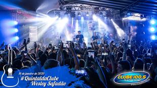 Foto Wesley Safadão no #QuintaldaClube 13