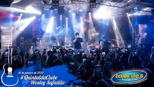 Foto Wesley Safadão no #QuintaldaClube 19
