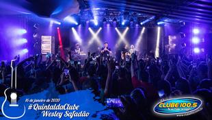 Foto Wesley Safadão no #QuintaldaClube 24