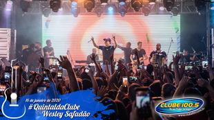 Foto Wesley Safadão no #QuintaldaClube 27