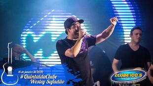 Foto Wesley Safadão no #QuintaldaClube 33