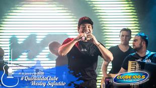 Foto Wesley Safadão no #QuintaldaClube 34