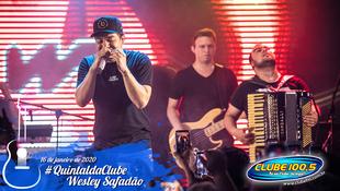 Foto Wesley Safadão no #QuintaldaClube 36