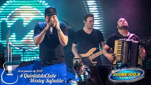 Foto Wesley Safadão no #QuintaldaClube 37