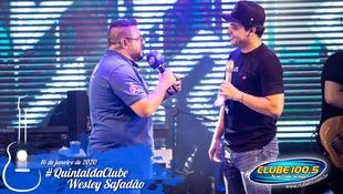 Foto Wesley Safadão no #QuintaldaClube 45