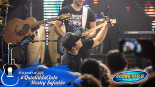 Foto Wesley Safadão no #QuintaldaClube 47