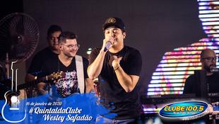 Foto Wesley Safadão no #QuintaldaClube 49