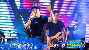 Foto Wesley Safadão no #QuintaldaClube 53