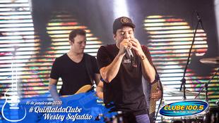 Foto Wesley Safadão no #QuintaldaClube 56