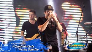 Foto Wesley Safadão no #QuintaldaClube 57