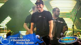 Foto Wesley Safadão no #QuintaldaClube 60