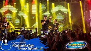 Foto Wesley Safadão no #QuintaldaClube 61