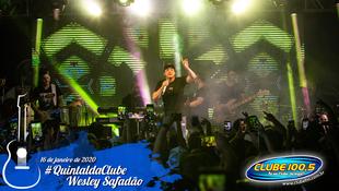 Foto Wesley Safadão no #QuintaldaClube 66