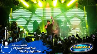 Foto Wesley Safadão no #QuintaldaClube 67