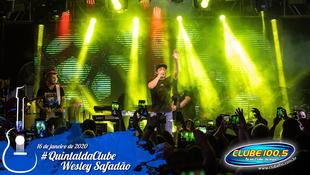 Foto Wesley Safadão no #QuintaldaClube 68