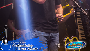 Foto Wesley Safadão no #QuintaldaClube 72