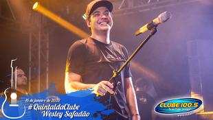 Foto Wesley Safadão no #QuintaldaClube 75
