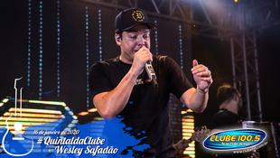 Foto Wesley Safadão no #QuintaldaClube 81