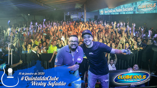 Foto Wesley Safadão no #QuintaldaClube 85