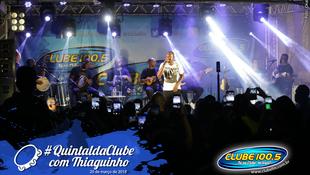 Foto Quintal da Clube com Thiaguinho 7