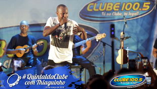 Foto Quintal da Clube com Thiaguinho 22