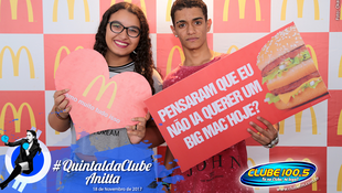 Foto Quintal da Clube com Anitta 1