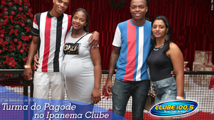 Foto Turma do Pagode no Ipanema Clube 7