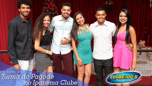 Foto Turma do Pagode no Ipanema Clube 10