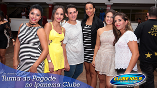 Foto Turma do Pagode no Ipanema Clube 21