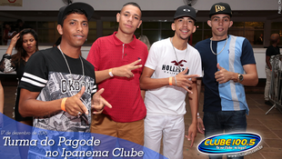 Foto Turma do Pagode no Ipanema Clube 23
