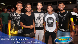 Foto Turma do Pagode no Ipanema Clube 24