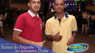 Foto Turma do Pagode no Ipanema Clube 33