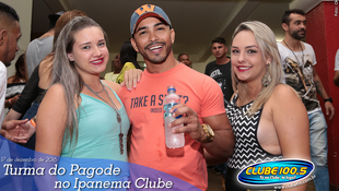 Foto Turma do Pagode no Ipanema Clube 36