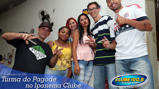 Foto Turma do Pagode no Ipanema Clube 38