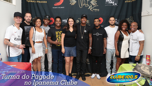 Foto Turma do Pagode no Ipanema Clube 39