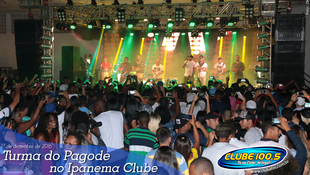 Foto Turma do Pagode no Ipanema Clube 42