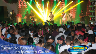 Foto Turma do Pagode no Ipanema Clube 43