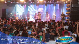 Foto Turma do Pagode no Ipanema Clube 45