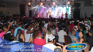 Foto Turma do Pagode no Ipanema Clube 47