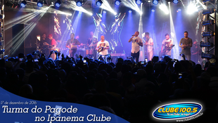 Foto Turma do Pagode no Ipanema Clube 52