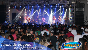 Foto Turma do Pagode no Ipanema Clube 54
