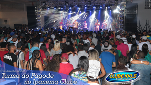 Foto Turma do Pagode no Ipanema Clube 55