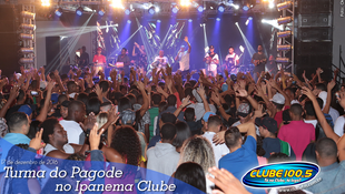 Foto Turma do Pagode no Ipanema Clube 57