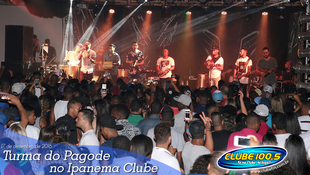 Foto Turma do Pagode no Ipanema Clube 60
