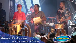 Foto Turma do Pagode no Ipanema Clube 61