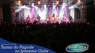 Foto Turma do Pagode no Ipanema Clube 64