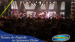 Foto Turma do Pagode no Ipanema Clube 70