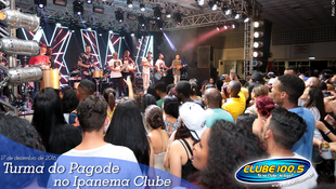 Foto Turma do Pagode no Ipanema Clube 73