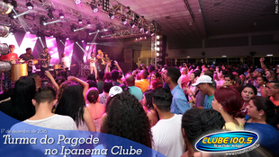 Foto Turma do Pagode no Ipanema Clube 74