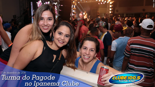 Foto Turma do Pagode no Ipanema Clube 76